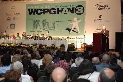 Figura 4- Foto da cerimonia de abertura do Congresso Mundial