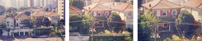 Figuras 4-5-6 - A casa dos meus avós após ser reformada.