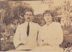 Figura 7- Meus avós paternos Juventina e Ulysses.