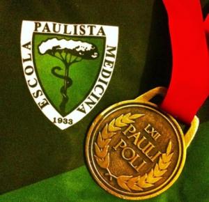 Figura 18- A tão ambicionada e conquistada medalha de ouro da PAULI-POLI.