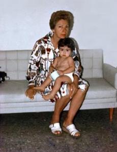 Figura 16- A visita da minha mãe depois de longa ausência.