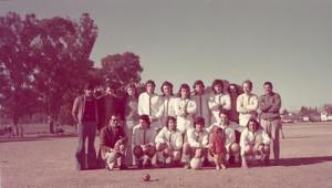 Figura 6- Meu time El Faro antes de uma partida do campeonato amador de Buenos Aires.