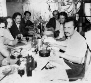Figura 10- Almoço da minha despedida do Policlínico Alejandro Posadas, em dezembro de 1973, com a participação da equipe de médicos da Gastropediatria.