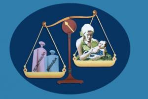 Figura 10- Representação esquemática da ausência de aleitamento natural como contribuição para a instalação da desnutrição.