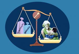 Figura 11- Representação esquemática da profilaxia da desnutrição quando o aleitamento natural está presente de forma exclusiva e por tempo prolongado.
