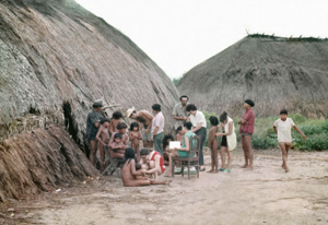 Figura 11- Cena de atendimento na aldeia Iualapiti.