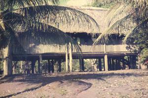 Figura 10- Vista do acampamento dos médicos em 1971.