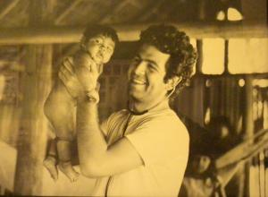 Figura 13- Minha primeira visita ao Posto Diauarum em 1971.