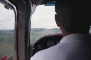 Figura 14- Vista aérea do Posto Diauarum em 1990.