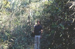 Figura 5- Uma parada na trilha para uma foto.
