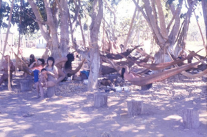 Figura 11- Acampamento dos índios no Posto Leonardo.