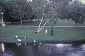 Figura 17- A família em passeio ao Whiteney-Pond Park.