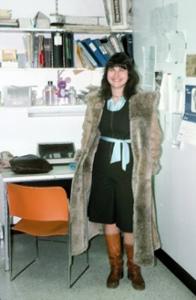 Figura 24- A bióloga Mary Ann Bayne minha maestra e grande amiga para sempre.