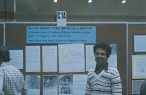 Figura 10- Nosso poster exposto no Congresso da FASEB em Atlantic City.