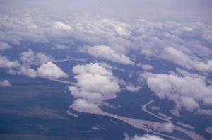 Figura 1 – Vista aérea dos formadores do rio Xingu.