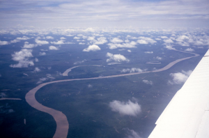 Figura 2 – Vista aérea dos formadores do rio Xingu.