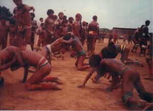 Figura 18- Festa do Quarup, luta da uca-uca.