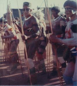Figura 21- Festa do Javari. O grande chefe Tacumã ao centro.