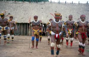 Figura 23- Festa do Javari. Índios dançando.