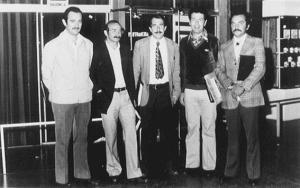 Figura 17- Participação da reunião da LASPGHAN, em seus primórdios, em Montevideo, Uruguai em 1981.