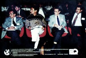 Figura 19- Participação da X Reunião da LASPGHAN, em Montevideo, em 1991.