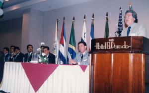 Figura 22- Congresso na Guatemala em 1997.