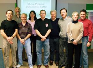 Figura 30- Participantes do Grupo de Trabalho em Toronto, da esquerda para a direita: Eric Hassal (Canadá), Yvan Vandeplas (Bélgia), Benjamin Gold (EUA), Sybele Kolettzko, Phillip Sherman (Canadá), eu, Suichiro Kato (Japão), Susan Orenstein (EUA) e Colin Rudolph (EUA).