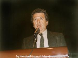 Figura 33- Uma palestra no evento em Lisboa, em 1994.
