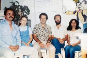 Figura 40- Em primeiro plano Juan Jorge nosso Especializando da República Dominicana.