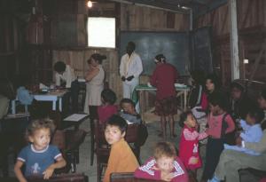 Figura 14- A sede da Associação dos Favelados aonde funcionava nosso ambulatório.