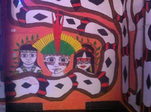 Figura 15- Painel no interior do HUP.