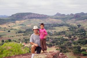Figura 21 Minha experiência com os Terenas em Aquidauana, Mato Grosso do Sul, em 1993.
