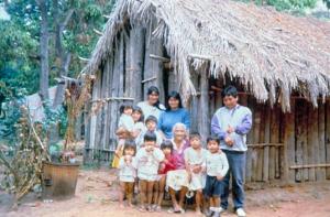 Figura 22- Minha experiência com os Terenas em Aquidauana, Mato Grosso do Sul, em 1993.
