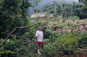 Figura 23- Nossa experiência com os Guaranis no litoral de São Paulo, em 1997.