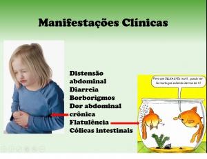 Figura 4- Representação esquemática das manifestações clínicas.