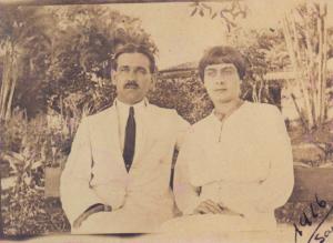 Figura 9: Meus avós Ulysses e Juventina quando jovens recém-casados em 1916.