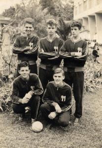 Figura 16: Nosso time de futsal campeão paulista juvenil em 1961.