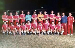 Figura 20: Seleção do Clube Atlético Indiano que disputou os campeonatos interclubes da cidade de São Paulo. Estou agachado, sou o antepenúltimo à esquerda.