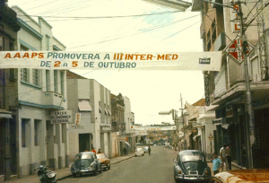 Figura 29: Anúncio da III Intermed em Botucatu.