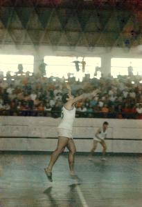 Figura 33: A terceira edição da Intermed em 1969 na qual nos tornamos bicampeões. Vencemos entre outras modalidades no futebol e no vôlei.