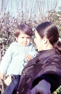Figura 38- Eurídice e Uly em Buenos Aires no inverno de 1973.