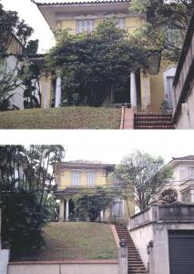 Figuras 4-5: Fotos da casa em 1992 antes de eu fazer a reforma que durou um ano.