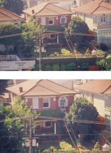Figuras 6-7: Fotos da casa em 1993 depois da reforma.